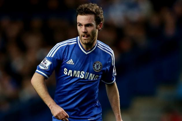 Chelsea Transfer Rumours: Juan Mata Set for Talks over Atletico Madrid Loan
