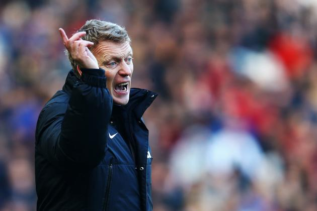 David Moyes Reportedly 'Ripped Into' Manchester United Stars After Swansea Loss