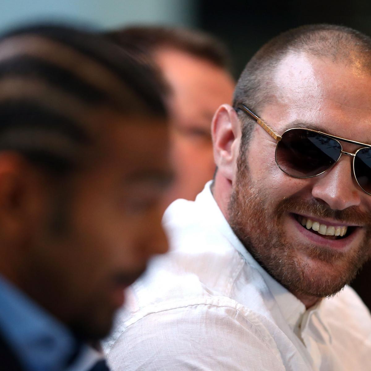 Tyson Fury Rips Deontay Wilder, Wladimir Klitschko And
