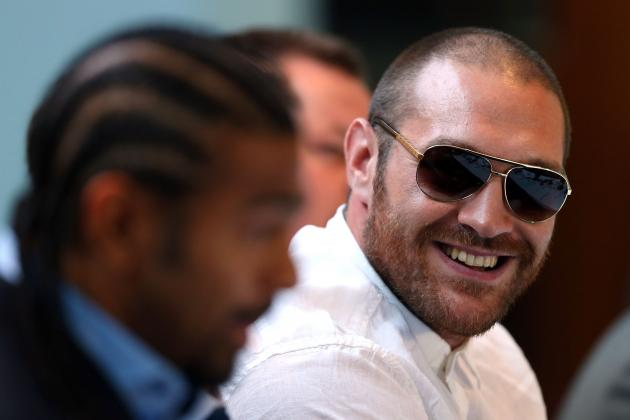 Tyson Fury Rips Deontay Wilder, Wladimir Klitschko and David Haye