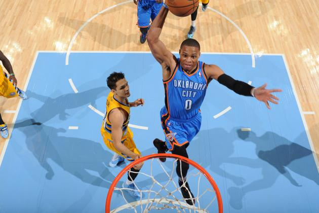Russell Westbrook Returns to Thunder Lineup for First Time Since Knee Injury
