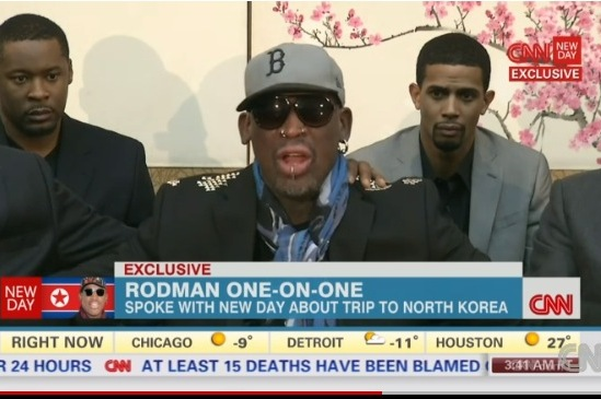 Rodman Has Meltdown in Interview