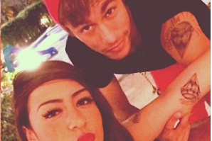 Neymar Gets Matching Tattoo with His Sister, Who Shows It off on Instagram