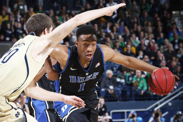 Duke Basketball: Did Notre Dame Establish Blueprint to Shut Down Jabari Parker?