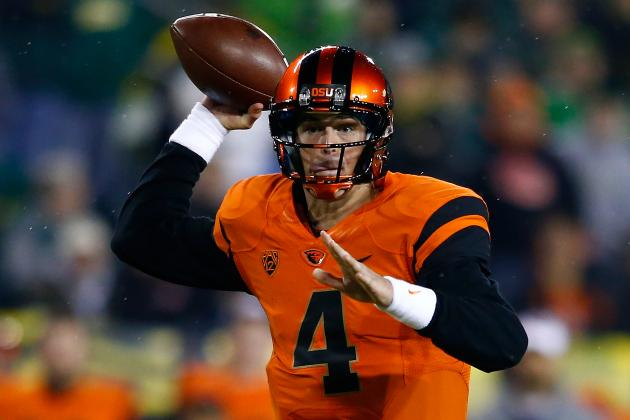 Oregon State QB Sean Mannion Returning to Beavers for Senior Year