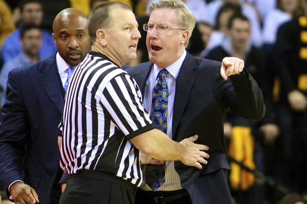 Fran McCaffery Suspended 1 Game, Iowa Fined for Coach's Meltdown vs. Wisconsin