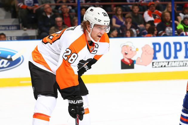 Flyers' Giroux snubbed for Olympics