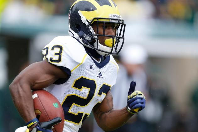 Michigan Football: Wolverines Can't Afford to Sleep on Dennis Norfleet in 2014