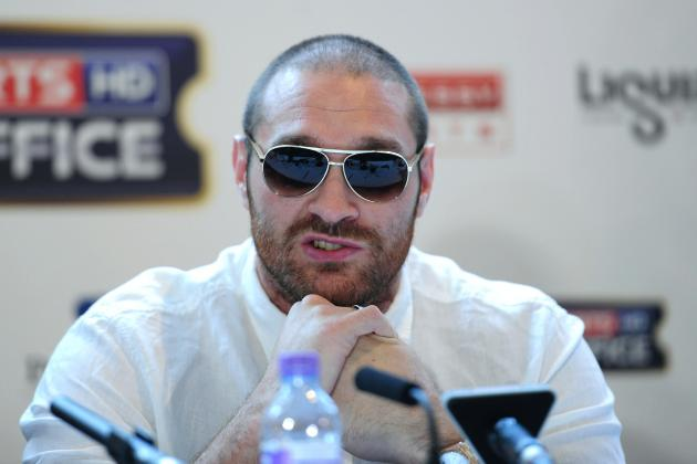 Fury Upset That WBC Dropped Him in Rankings