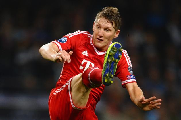 SCHWEINSTEIGER CLOSING in on RETURN to FIRST-TEAM TRAINING