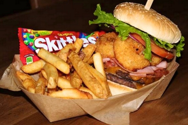 Seahawks Serving Marshawn Lynch-Inspired 'Beast' Burger with Side of Skittles