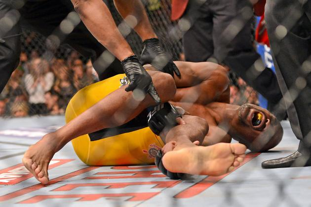 Anderson Silva Posts Latest 'Leg Break' Rehab Photo to His Instagram Page