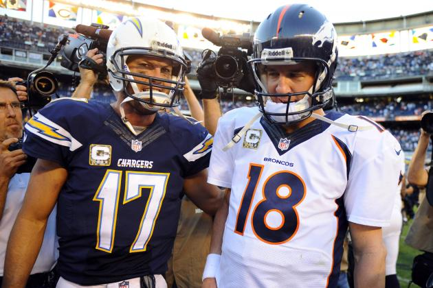 Debate: Will Manning or Rivers Throw for More Yards Sunday?