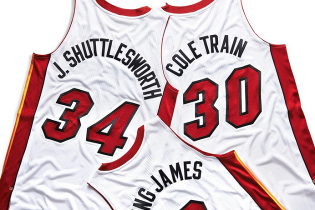 Miami Heat Reveal Nicknames on Jerseys for Every Player on Roster