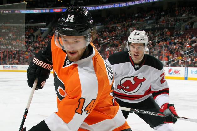 ESPN Gamecast: Philadelphia Flyers vs. New Jersey Devils