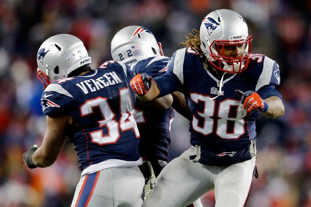 Patriots' Stable of Running Backs Must Carry New England for Playoff Success