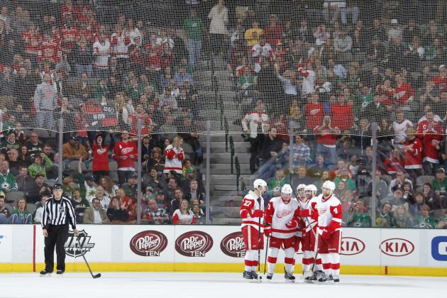Detroit Red Wings' California Road Trip Will Be Biggest Test of 2013-14 Season