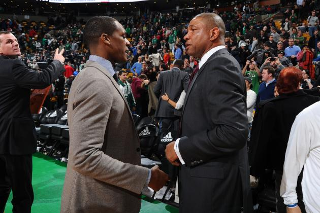Doc Rivers All Business for Second Meeting Between Clippers and Celtics