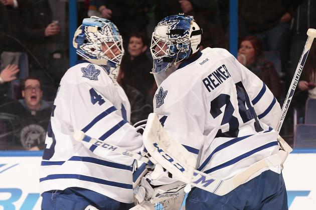 Mirtle: Leafs Goalie Battle Far from over After Bernier Falters Again