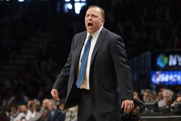 Tom Thibodeau Unhappy with Luol Deng Trade