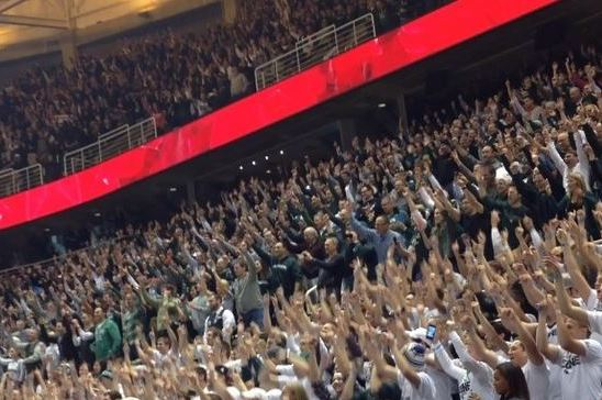 Michigan State Crowd Does Daniel Bryan's 'Yes!' Chant at Basketball Game
