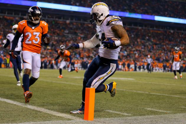 Chargers' Cinderella Run Will End in Denver Without Ryan Mathews