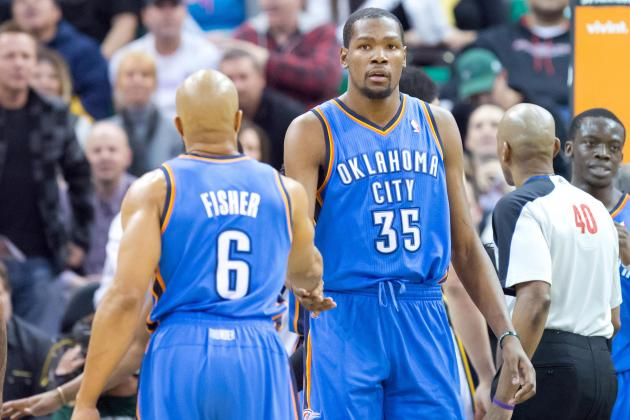 Kevin Durant's 48-Point Night Shows Thunder's Dilemma Without Russell Westbrook
