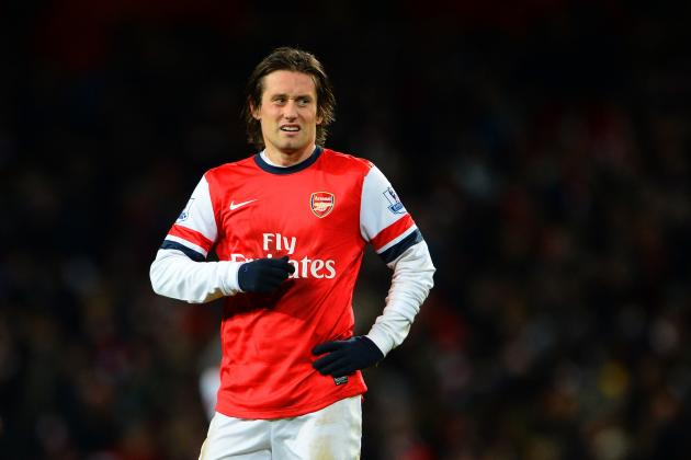 Why Tomas Rosicky Is Arsenal's Ready-Made Theo Walcott Replacement