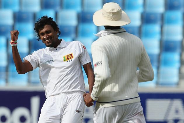 Pakistan vs. Sri Lanka, 2nd Test, Day 1: Video Highlights, Scorecard and Report