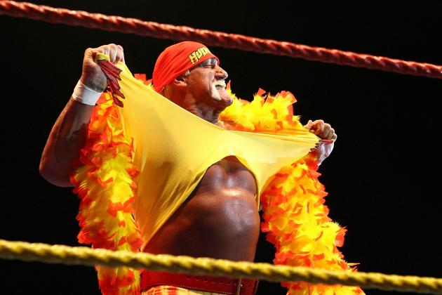 Report: Hulk Hogan Backstage at WWE SmackDown Taping