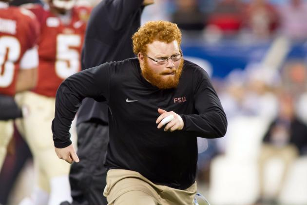FSU Ball Boy 'Red Lightning' Is a BCS Champion Covered in Ladies