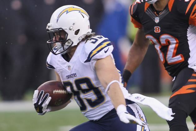 Danny Woodhead, Once Released by Jets