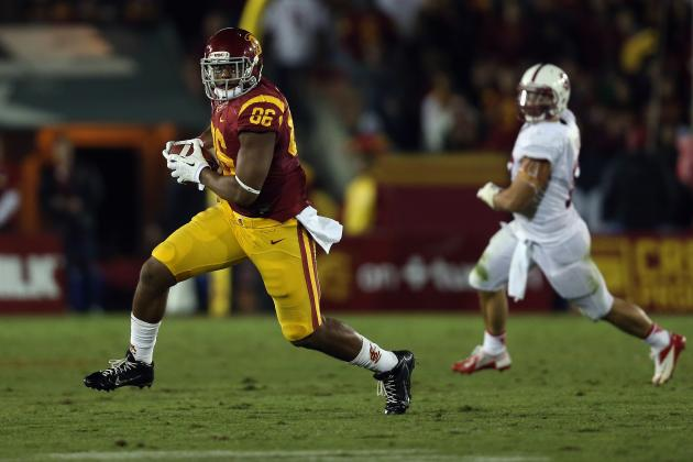 USC TE Xavier Grimble Declares for 2014 NFL Draft
