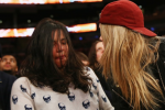 Michelle Rodrigez Got Trashed Courtside at Knicks Game