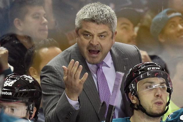 McLellan Irate After Sharks on Wrong End of Another 'Blown Call'