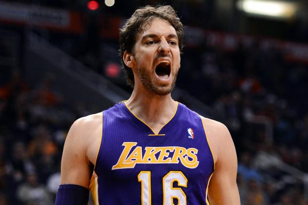 Lakers Trade Rumors: L.A. Wise to Shop Around for Pau Gasol Deal