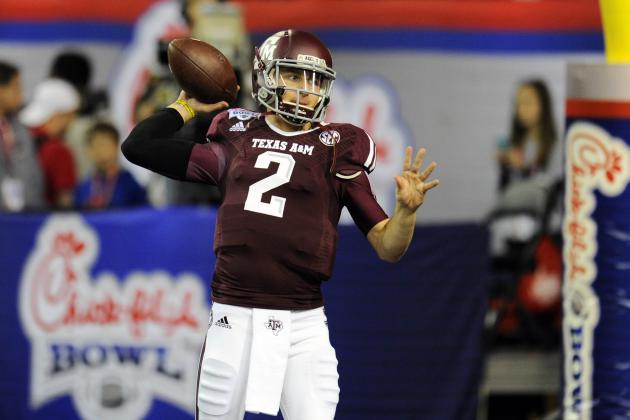 Twitter Reacts as Johnny Manziel Officially Enters 2014 NFL Draft