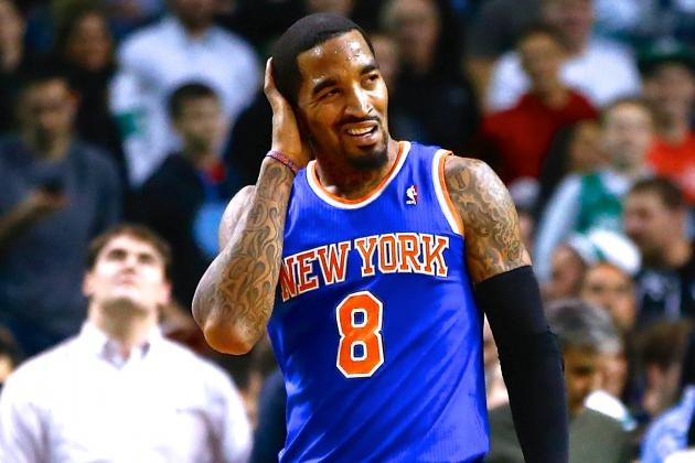 J.R. Smith Fined $50,000 for Untying Opponents' Shoelaces During Games