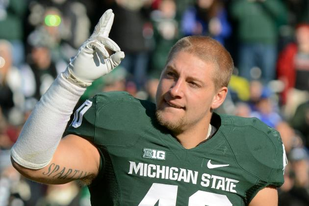 Michigan State LB Max Bullough to Play in Shrine Game