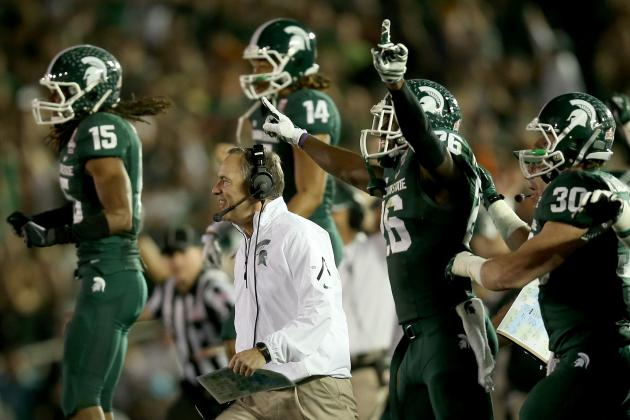 MSU Football High in Very Early 2014 Rankings