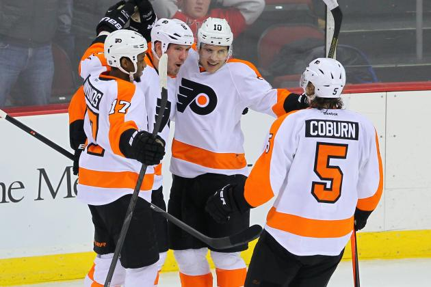 Flyers Aim for 10th Straight Home Win