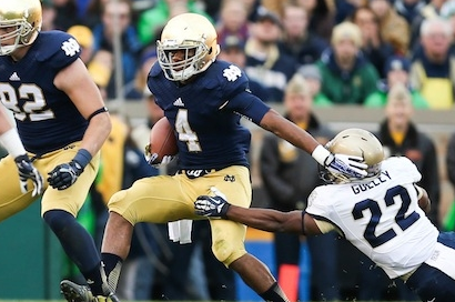 Notre Dame RB George Atkinson Declares for NFL Draft