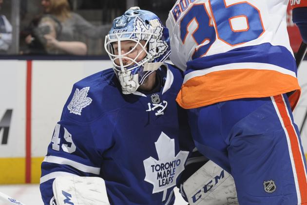 Bernier's Silence Shows Leafs' Frustration