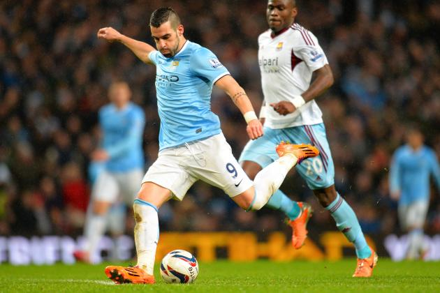 Analysing Alvaro Negredo's Performance vs. West Ham