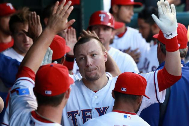 Texas Rangers Could Bring Back Jeff Baker as Designated Hitter and Role Player