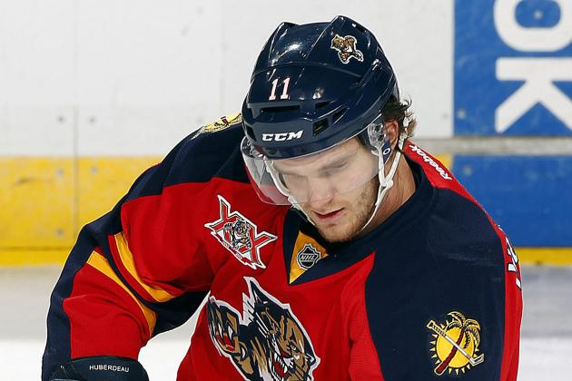 Panthers' Huberdeau Deals with Dry Spell