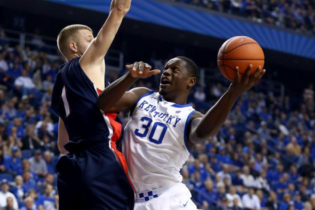 Kentucky Basketball: Julius Randle's NBA Draft Stock Midway Through 2013-14