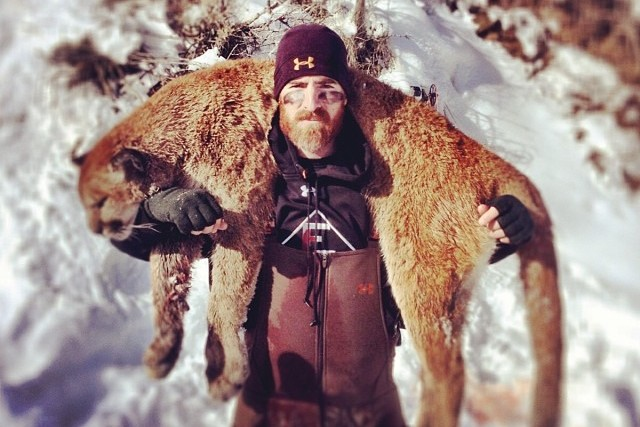 Washington Nationals' Adam LaRoche Kills Mountain Lion, Poses with It
