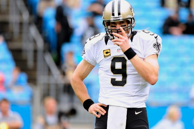 Breaking Down Drew Brees' Road Game Woes as Saints Head to Seattle