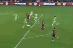 GIF: Lionel Messi Scores 2 on His Barcelona Return vs. Getafe in Copa Del Rey